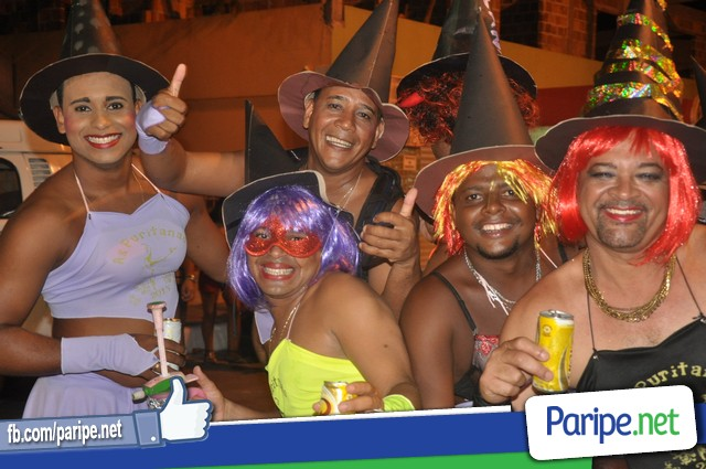 As Puritanas no Carnaval de Paripe